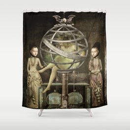 sCiEnCe aNd fiCtiOn Shower Curtain