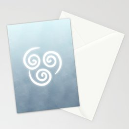 Avatar Air Bending Element Symbol Stationery Cards