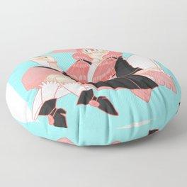 Paper Crane Floor Pillow