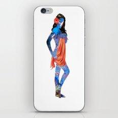 Water Pin Up Girl iPhone & iPod Skin