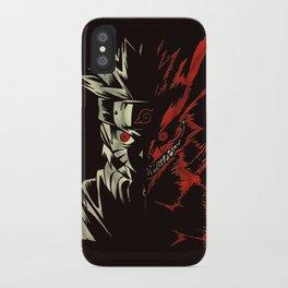 Naruto Transformation iPhone Case