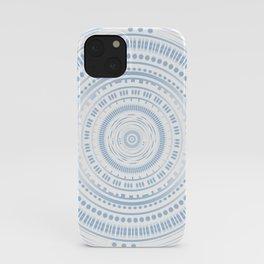 Graphic, technical ring / mandala iPhone Case
