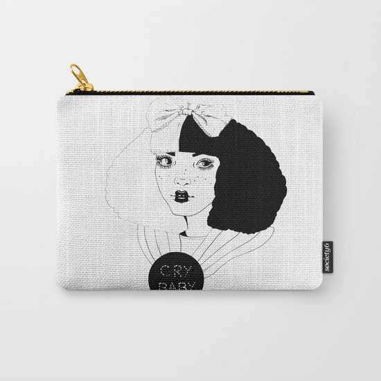 YOU CAN BE ALICE, I'LL BE THE MAD HATTER. Carry-All Pouch