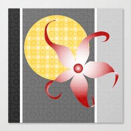 Star Flower I Canvas Print