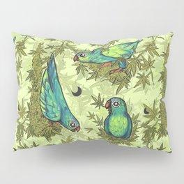Parrots & Weeds Pillow Sham