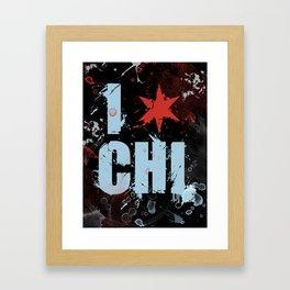 Chicago Love Framed Art Print