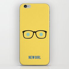 New Girl - Minimalist iPhone & iPod Skin