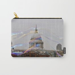 St. Paul's behind bubbles. Carry-All Pouch