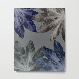 Vintage Leaf Design 2 Metal Print