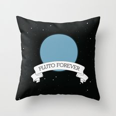 We believe pluto Throw Pillow