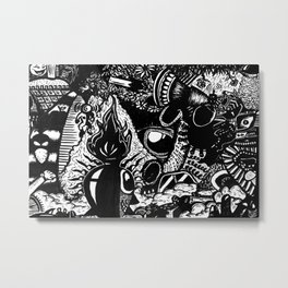 Abstrart_1 Metal Print