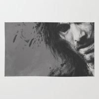 aragorn Area & Throw Rugs featuring Aragorn by Alba Palacio