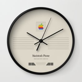 Vintage Macintosh phone Wall Clock