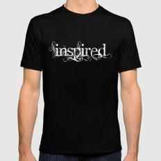 Inspired Mens Fitted Tee MEDIUM Black