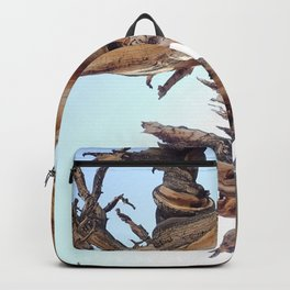 Trees twisting in the wind Backpack