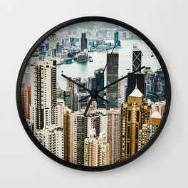 Harbour Section Wall Clock