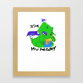 IM HUNGRY! Framed Art Print