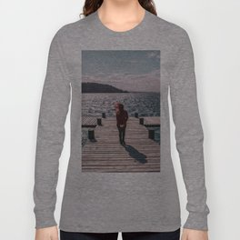 Ella y el lago Long Sleeve T-shirt