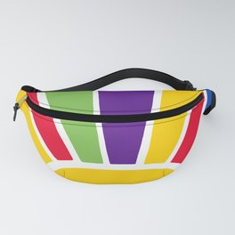 Colourful Sun Ray Burst Fanny Pack