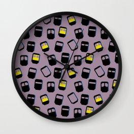 Niqabis pattern Wall Clock