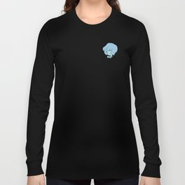 Blue Pearl Pocket Tee Long Sleeve T-shirt