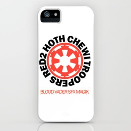 Red2 Hoth Chewi Troopers iPhone Case