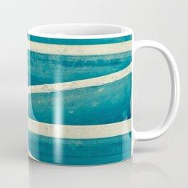Blue Metal Grate Coffee Mug