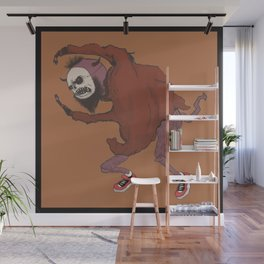 The frightening monster Wall Mural