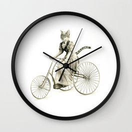 Victorian Cat Series 03 Wall Clock