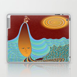 The Young Man And The Sea Laptop & iPad Skin