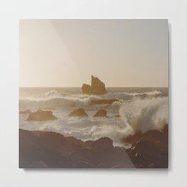 Ocean Rocks at Patrick's Point Metal Print