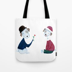 Cute Dogs - PAINTED Tote Bag