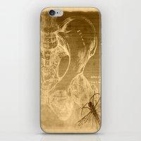 anatomy iPhone & iPod Skins featuring Anatomy by ViviRajski