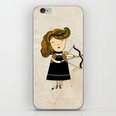 Sagittarius Girl iPhone Skin