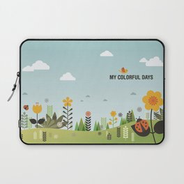 My Colorful Days Laptop Sleeve