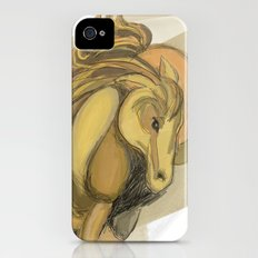 Golden horse Slim Case iPhone (4, 4s)