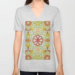Colorful Mandala #03 Unisex V-Neck