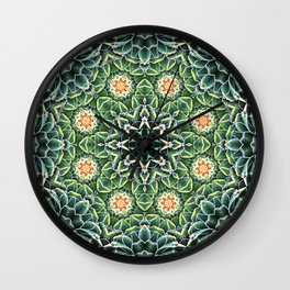 Succulent Splendor Two Wall Clock