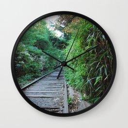 Hide Away Wall Clock