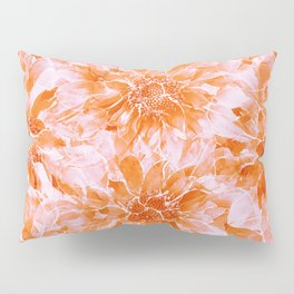The Smell of Spring 3 / Monochrome / Apricot Pillow Sham