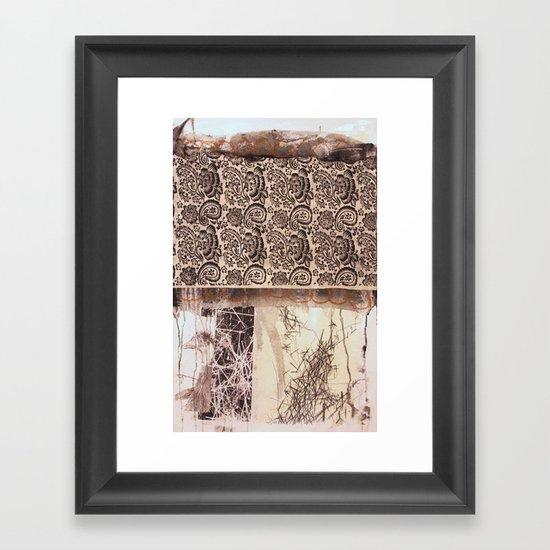 PAISLEY Framed Art Print