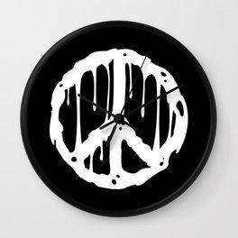 Toxic Peace Wall Clock