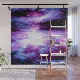 Orion Nebula Purple Periwinkle Blue Galaxy Wall Mural