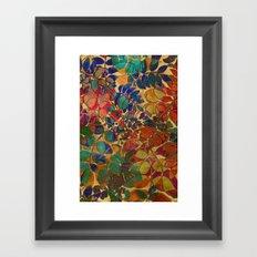 Love of Leaves Framed Art Print