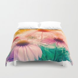Happy Summerflowers Pastell Duvet Cover