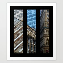 Aspects of Montreal Art Print