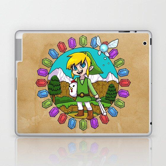Hyrule Adventurer Laptop & iPad Skin