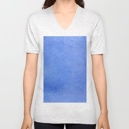 Azure watercolor Unisex V-Neck