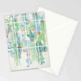 Winter in Glasshouses II Stationery Cards