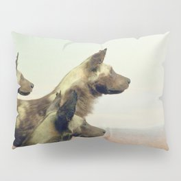 Hi, we are the wild dogs Pillow Sham